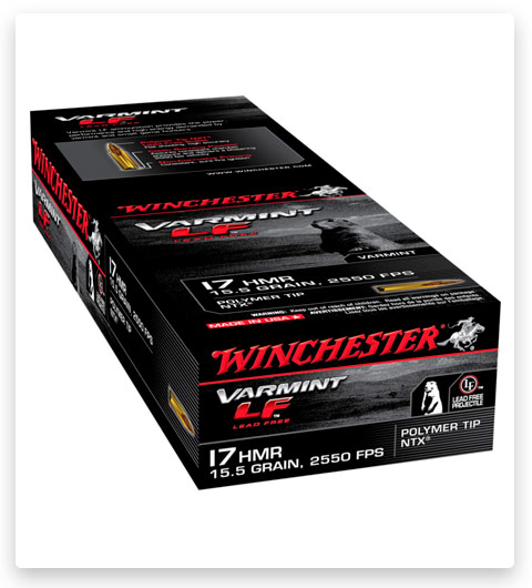 Winchester VARMINT LF 17 Hornady Magnum Rimfire Ammo 15.5 grain
