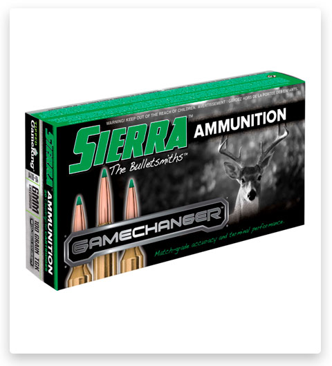 Sierra GameChanger 6mm Creedmoor Ammo 100 Grain