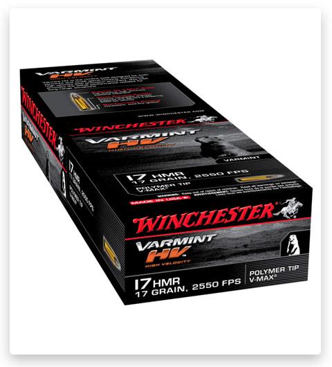 Winchester VARMINT HV 17 Hornady Magnum Rimfire Ammo 17 grain
