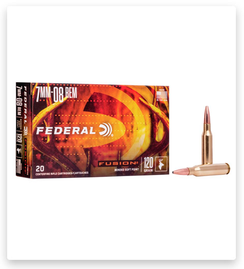 Federal Premium FUSION 7mm-08 Remington Ammo 120 grain