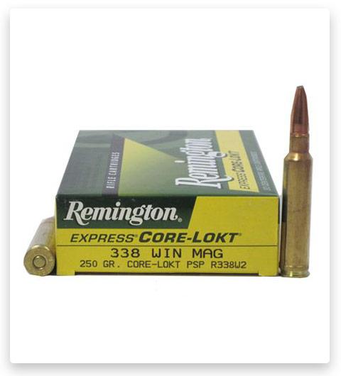 Remington Core-Lokt 338 Winchester Magnum Ammo 250 Grain
