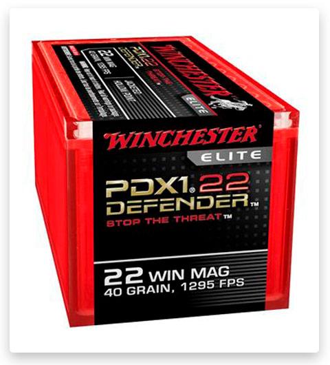 Winchester DEFENDER 22 Winchester Magnum Rimfire Ammo 40 grain