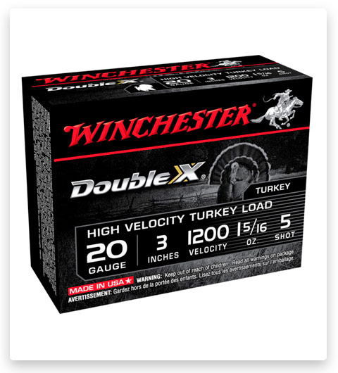 Winchester DOUBLE X 20 Gauge Ammo