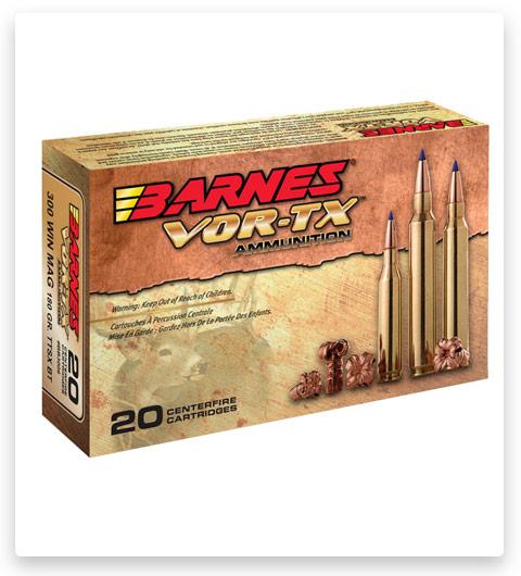 Barnes Vor-Tx 338 Winchester Magnum Ammo 210 grain
