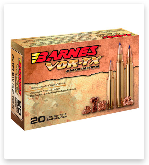 Barnes Vor-Tx 7mm-08 Remington Ammo 120 grain