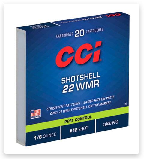 CCI Rimfire Shotshell 22 Winchester Magnum Rimfire Ammo 52 grain
