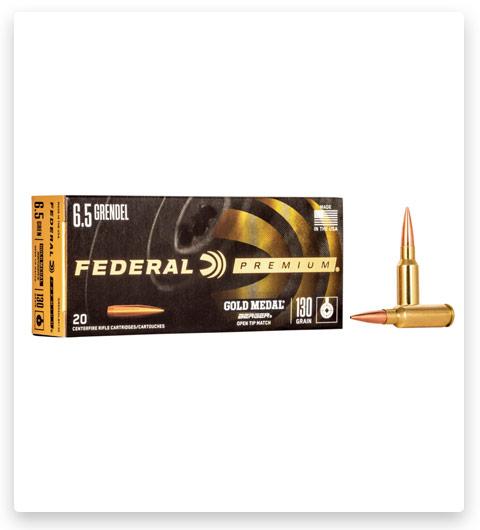 Federal Premium LONG RANGE 6.5mm Grendel Ammo 130 grain