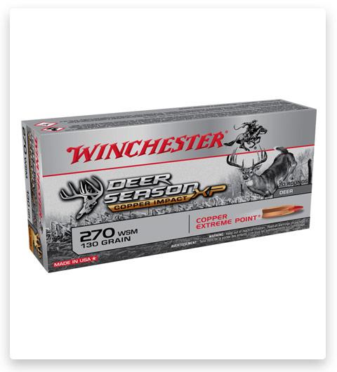 Winchester DEER SEASON XP 270 Winchester Ammo 130 grain