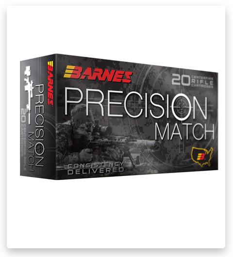 Barnes Precision Match 338 Lapua Magnum Ammo 300 grain