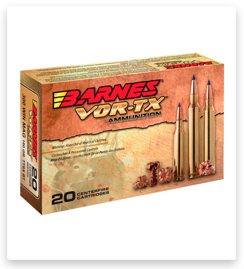 Barnes Vor-Tx 6.5 Grendel Ammo 115 grain