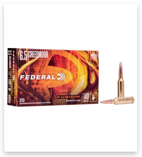 Federal Premium FUSION 6.5 Creedmoor Ammo 140 grain