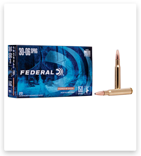 Federal Premium Power-Shok 30-06 Springfield Ammo 150 grain