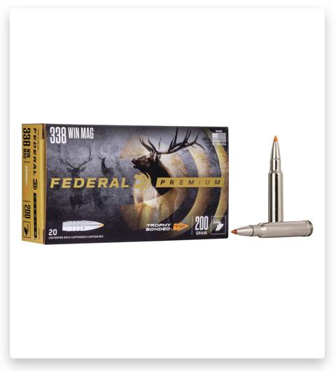 Federal Premium VITAL-SHOK 338 Winchester Magnum Ammo 200 grain