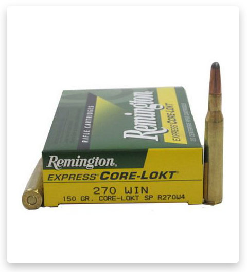 Remington Core-Lokt 270 Winchester Ammo 150 Grain