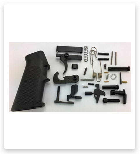 Tactical Superiority AR-10 Lower Parts Kit A2 Black Grip