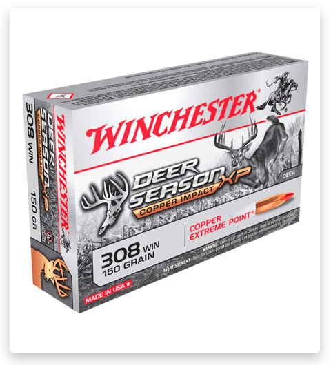 Winchester DEER SEASON XP 308 Winchester Ammo 150 grain