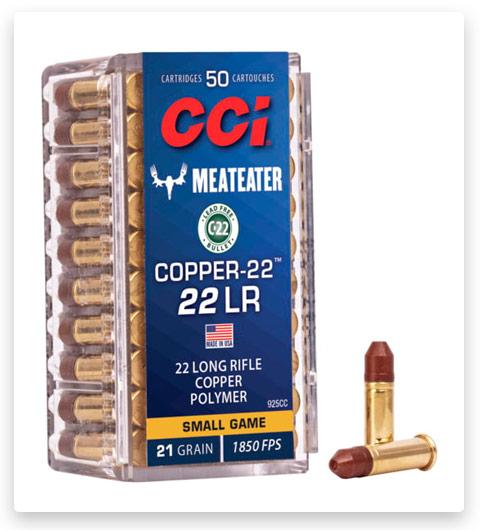 CCI Copper-22 22 Long Rifle Ammo 22 grain