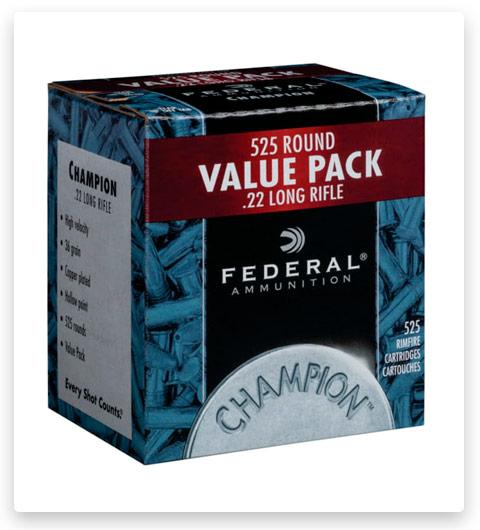 Federal Premium Champion Training - Rimfire 22 Long Rifle Ammo 36 grain