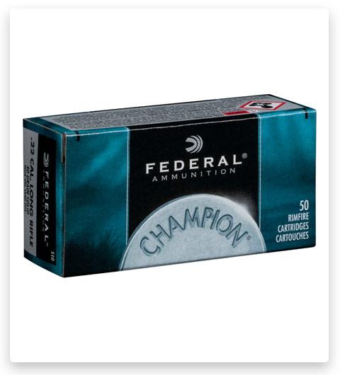 Federal Premium Champion Training - Rimfire 22 Long Rifle Ammo 40 grain