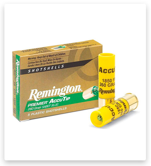 Remington Premier AccuTip Sabot Slugs 20 Gauge Ammo 260 Grain