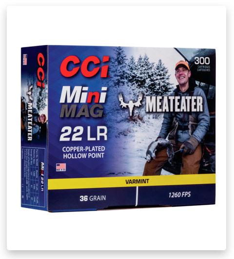CCI MeatEater Series Mini-Mag 22 Long Rifle Ammo 36 grain