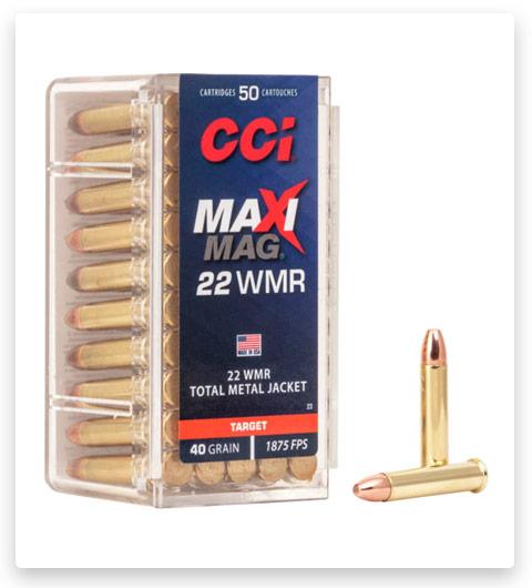 CCI Maxi-Mag 22 Winchester Magnum Rimfire Ammo 40 grain
