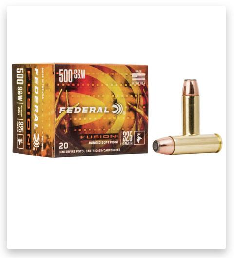 Federal Premium Centerfire Handgun 500 S&W Magnum Ammo 325 grain