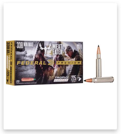 Federal Premium VITAL-SHOK 338 Winchester Magnum Ammo 225 grain