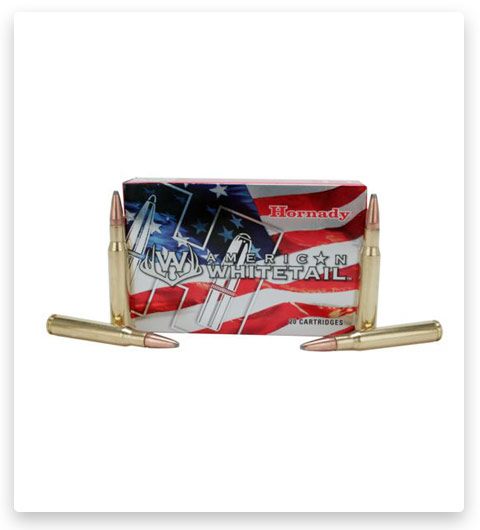 Hornady American Whitetail 270 Winchester Ammo 130 Grain