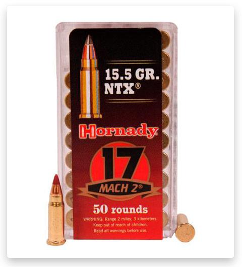 Hornady Varmint Express Rimfire 17 Hornady Mach 2 Ammo 15.5 Grain
