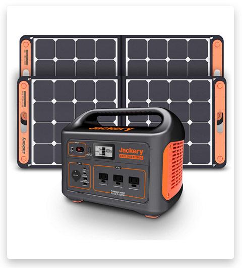 Jackery Portable Power Solar Generator Station Explorer