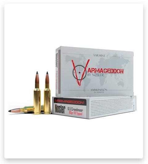 Nosler Varmageddon 6.5mm Creedmoor Ammo 90 Grain