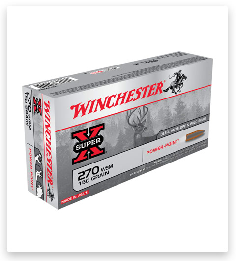 Winchester SUPER-X RIFLE 270 Winchester Short Magnum Ammo 150 grain