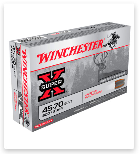 Winchester SUPER-X RIFLE 45-70 Government Ammo 300 grain