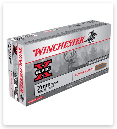 Winchester SUPER-X RIFLE 7mm Winchester Short Magnum Ammo 150 grain