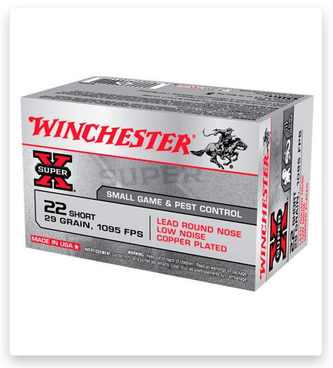 Winchester SUPER-X RIMFIRE 22 Short Ammo 29 grain