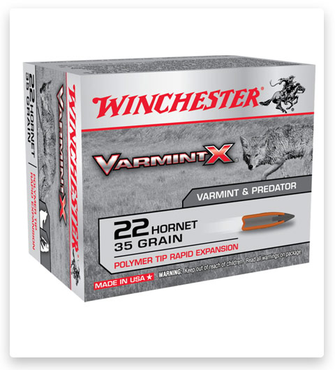 Winchester VARMINT X RIFLE 22 Hornet Ammo 35 grain