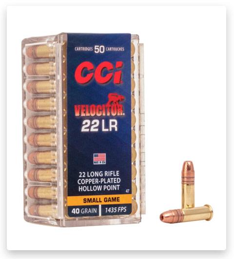 CCI Velocitor 22 Long Rifle Ammo 40 grain