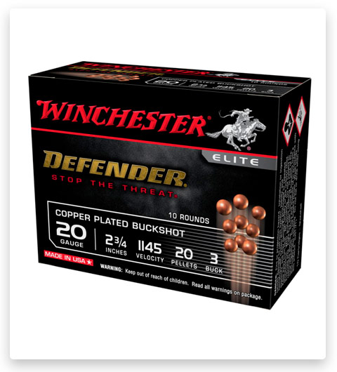 Winchester Defender 20 Gauge Ammo