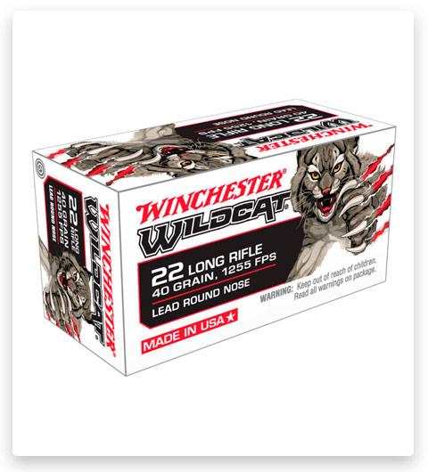 Winchester WILDCAT 22 Long Rifle Ammo 40 grain