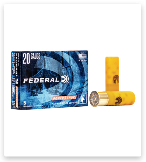 Federal Premium Power Shok 20 Gauge Ammo