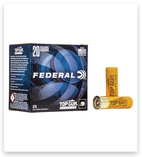 Federal Premium Top Gun 20 Gauge Ammo