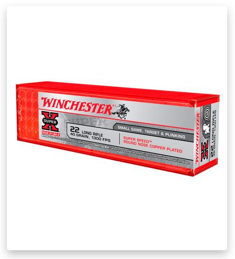 Winchester SUPER-X RIMFIRE 22 Long Rifle Ammo 40 grain