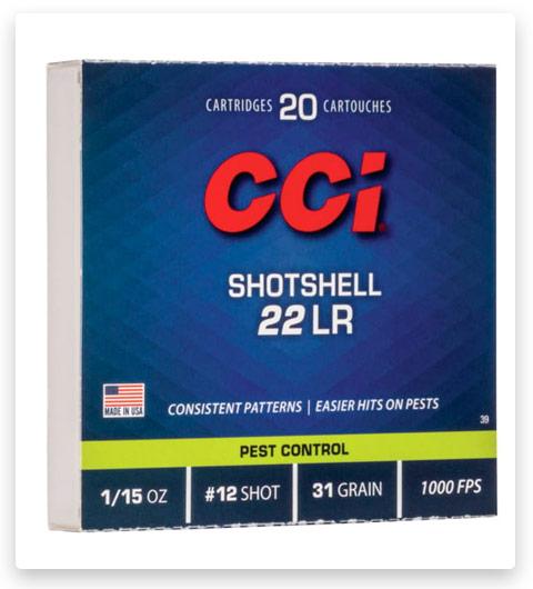 CCI Rimfire Shotshell 22 Long Rifle Ammo 31 grain