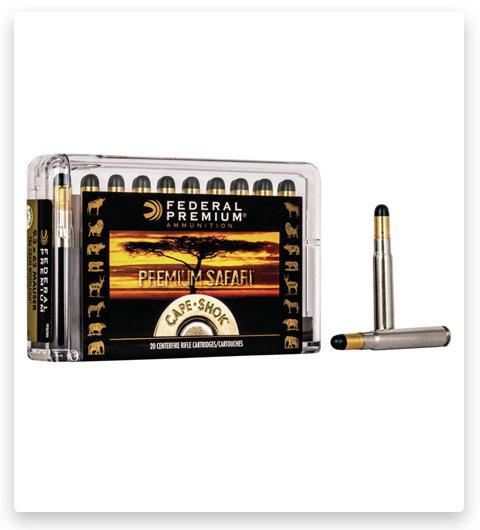 Federal Premium CAPE-SHOK 9.3x62mm Mauser Ammo 286 grain