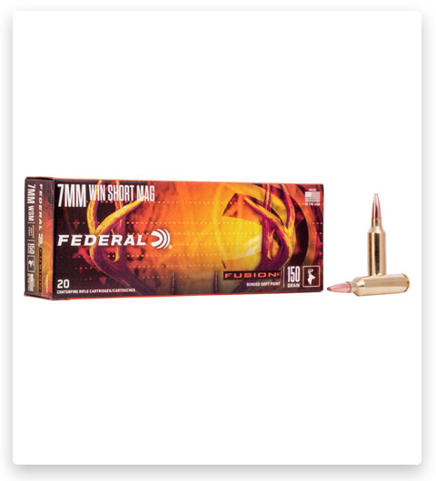 Federal Premium FUSION 7mm Winchester Short Magnum Ammo 150 grain