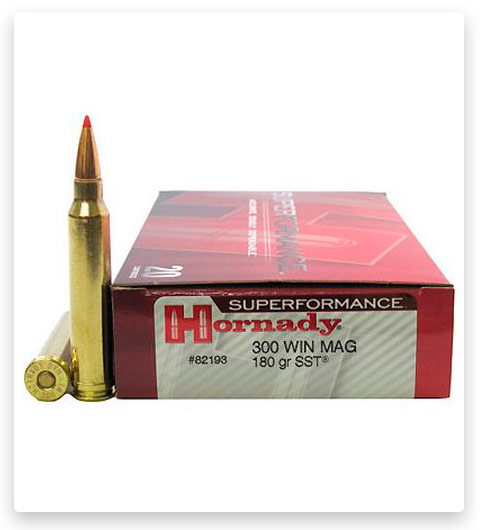 Hornady Superformance 300 Winchester Magnum Ammo 180 Grain