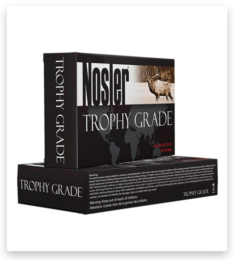 Nosler Trophy Grade 7mm Remington Magnum Ammo 160 Grain