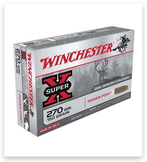 Winchester SUPER-X RIFLE 270 Winchester Ammo 150 grain
