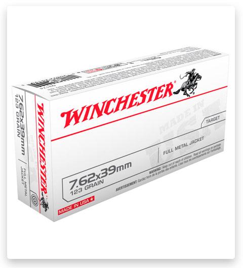 Winchester USA RIFLE 7.62x39mm Ammo 123 grain